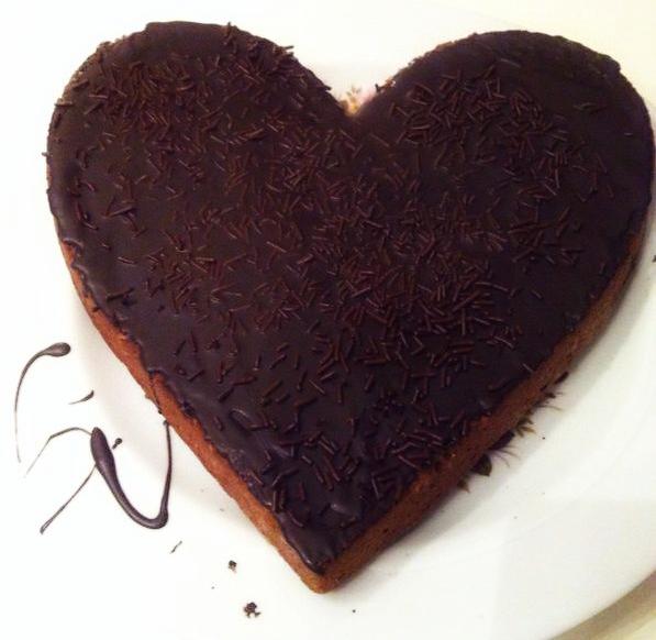 Heerlijke chocoladetaart met Baileys