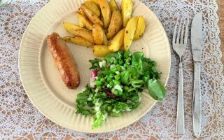 Gewoon Nederlands eten. Aardappeltjes, groente en vlees